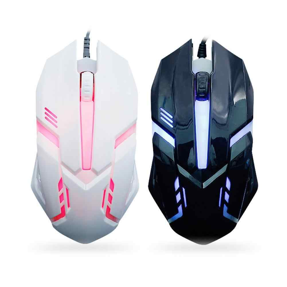 Ergonomic Wired Gaming Mouse 3Keys 1200DPI LED USB Computer Mouse Gamer Mice X7 Silent Mause With Backlight For PC Laptop мышь