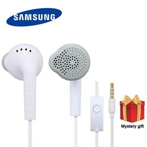 Image 1 - Наушники Samsung EHS61, проводная гарнитура с микрофоном для Samsung Galaxy S3 S6 S8 S9 S10, наушники вкладыши для Android IsoPhones