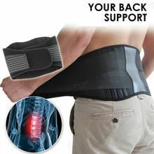 2020 venda quente masculino postura corrector suporte magnético lombar volta ombro cinta cinto para homens shaperwear