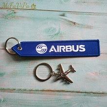 Mifavipa 10 комплектов модная безделушка airbus подарок брелок