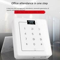 C800 imprensa teclado sistema de controle acesso fechadura da porta senha furto máquina integrada controle acesso