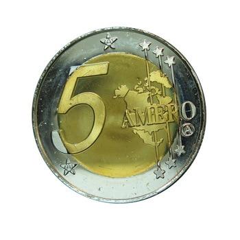 Moneda de recuerdo antiguo de Alemania, monedas originales, Challenge, oro, bimetal, pedido mundial nuevo, $5, redondo, Alexa Jones, 2021