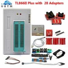 مبرمج USB VSTM V10.29 Minipro TL866II Plus, يدعم 15000 + IC SPI جودة عالية
