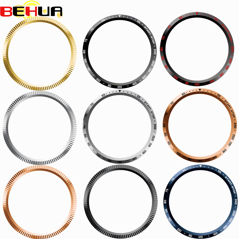 Bezel Ring Styling <font><b>Case</b></font> for <font><b>Garmin</b></font> <font><b>Forerunner</b></font> <font><b>645</b></font> <font><b>645</b></font> Music Smart Watch Stainless Steel Cover Anti-scratch Protection Ring Frame image