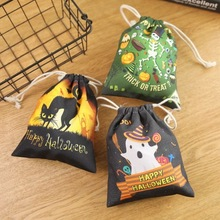 Halloween party theme candy gift bag Packaging box  Childrens favorite bags