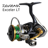 2018 NEW Original DAIWA EXCELER LT 1000 2000 2500 3000 4000 5000 6000 Spinning Fishing Reel High Cr Ratio 5.2:1 5BB LT Body