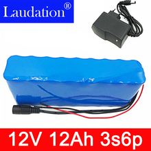 12V 12Ah Battery 100% New High Capacity Protection 11.1V  Lithium Rechargeable 12.6V 12000mAh Hot laudation