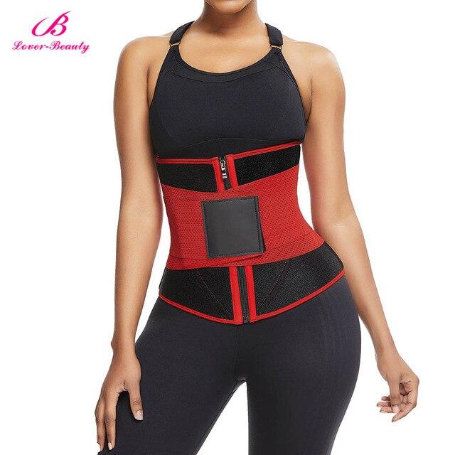 Lover-Beauty Women Waist Trainer Neoprene Belt Weight Loss Cincher Body Shaper Tummy Control Strap Slimming Sweat Fat Burning