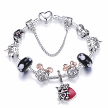 Cute Mickey Mouse Themed Bracelet