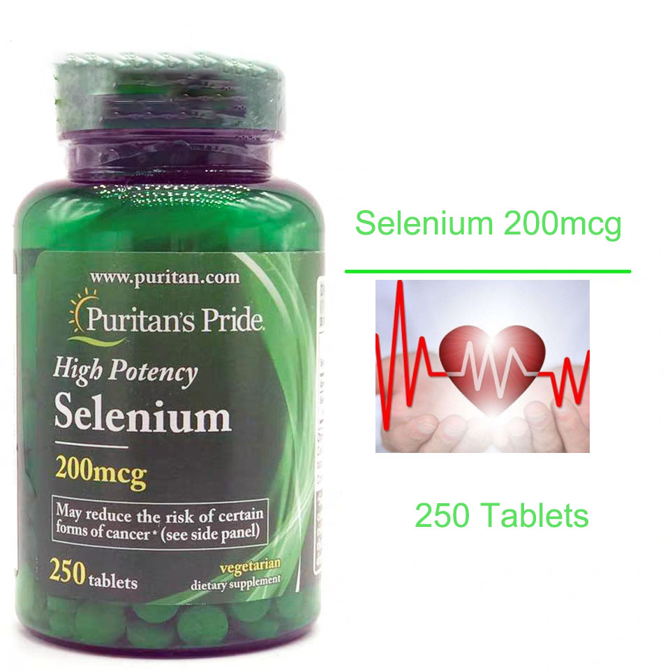 Hight Potency Selenium 200mcg 250pcs