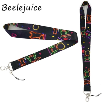 24pcs Little prince Mobile phone lanyard For keys ID Card Pass Gym USB badge holder DIY Hang Rope Tags Strap Neck Lanyards