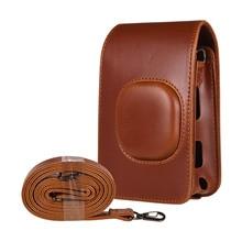 Portable Instant Camera Bags Film Photo Camera PU Cover Shoulder Bag for Fujifilm Fuji Instax mini LiPlay Cameras Accessories