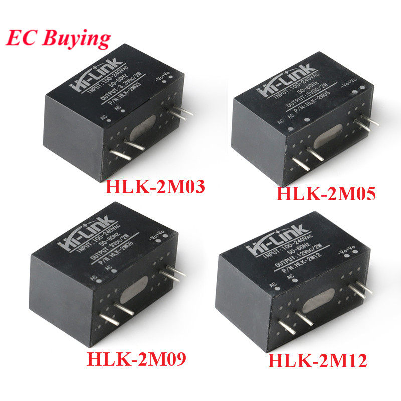 AC-DC <font><b>Power</b></font> <font><b>Module</b></font> Mini Isolation Switch <font><b>Power</b></font> <font><b>Supply</b></font> <font><b>Module</b></font> <font><b>220v</b></font> to 3.3V/5V/9V/<font><b>12V</b></font> HLK-2M03 HLK-2M05 HLK-2M12 HLK-2M09 AC DC image