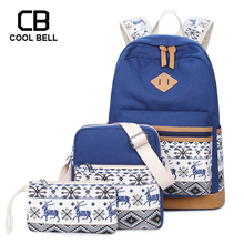 School Bags For Teenager Girls Casual Women Students School Backpack For Girls 3PCS/SET Waterproof Laptop Backpack Travel Bags sally face cartoon backpack teenager students school bags large capacity backpack women men laptop backpack casual travel bags