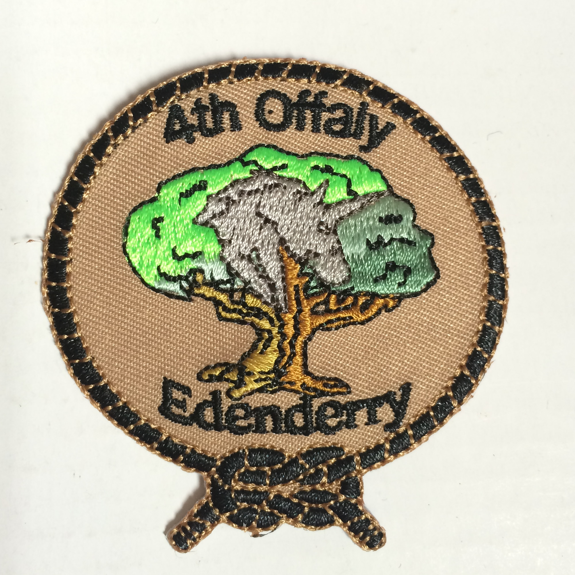Iron On Customized Embroidery Patches For Clothing Applique DIY Hat Coat Dress Pants As Customized Design Free Shipping
