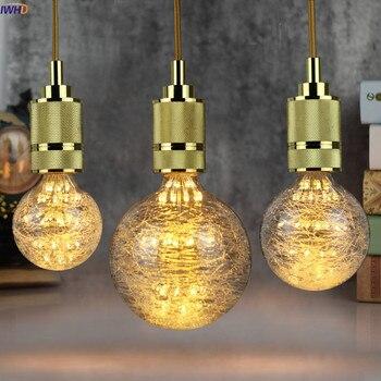 IWHD-Bombillas Edison de estilo Retro lámpara de 3W, LED 110-220V, Loft, decoración...