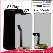 For MOTO G7 LCD Display Assembly Motorola Moto Play Screen Touch Digitizer Power