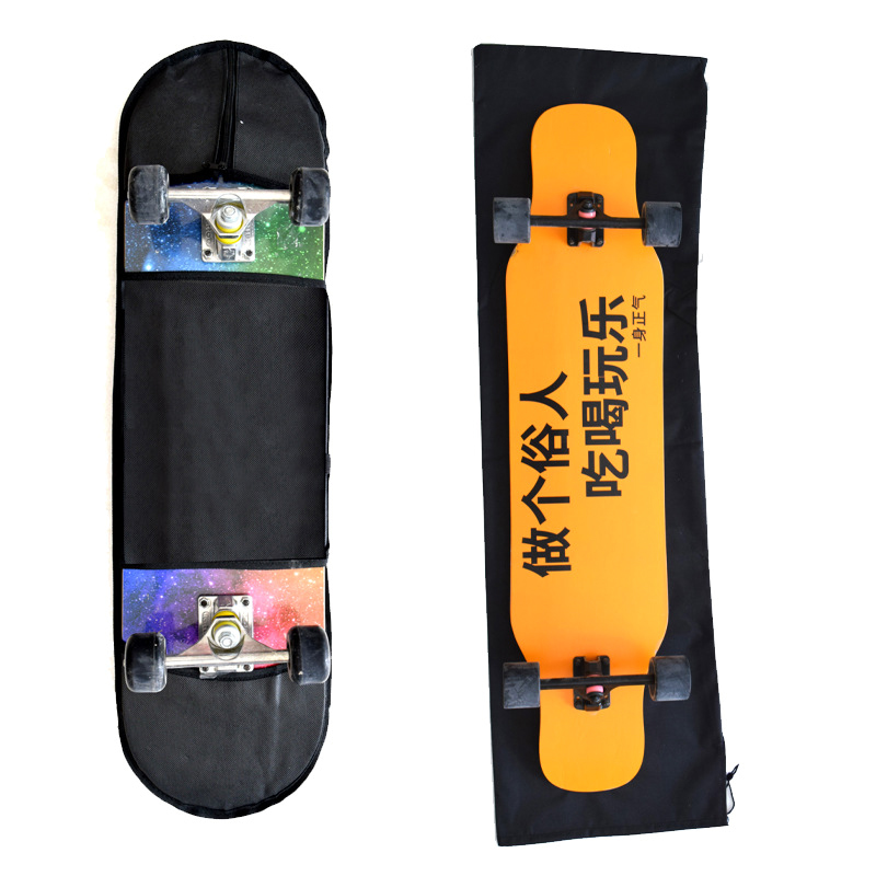 2 Pcs Skateboard Bag Storage Shoulder Carry Case Adjustable Portable For Outdoor THJ99