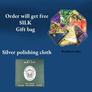 Image 3 - LiiJi collier ras du cou Unique, perles à facettes en Labradorite, collier avec fermoir en argent Sterling 925 de 40 50cm 16 20 pouces, cadeau pour mères