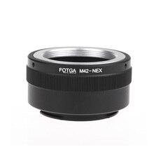 Fotga M42 Objektiv Adapter Ring Adapter Ring für Sony NEX E mount NEX NEX3 NEX5n NEX5t A7 A6000