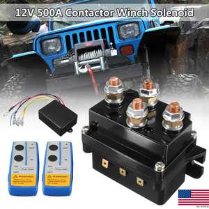 Relay Winch Solenoid Remote-Control 12v 500a Wireless Truck Universal Twin for Jeep ATV