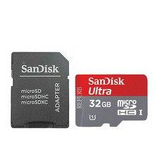 Cartão de memória caed c4 cartões flash microsd mini cartão para o telefone sandisk 32 gb ultra tf micro sd cartão sdhc classe 10 UHS-I 32 gb
