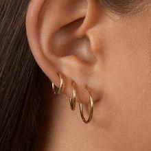 Женские винтажные серьги кольца розовое золото несколько подвесок