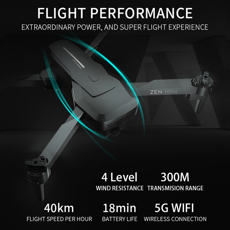 VISUO XS818 GPS Drone 4K Camera HD FPV Drones with Follow Me 5G WiFi Optical Flow Foldable RC Quadcopter Professional Dron 1