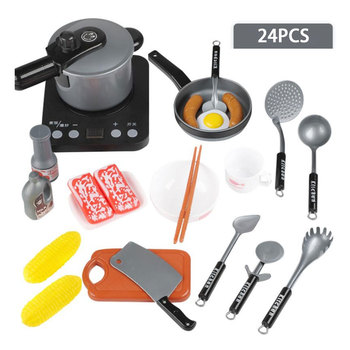 Children Kids Vegetables Fruits Kitchen Cooking Pretend Role Play Toy Set geek king 13pcs high quality set kitchen cooking toy children diy pretend kitchen toy role play toy set kids educational toys