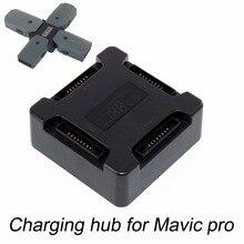 Concentrador de carga de batería 4 en 1 para Dron DJI Mavic Pro Platinum, concentrador de Carga inteligente de batería múltiple portátil con pantalla