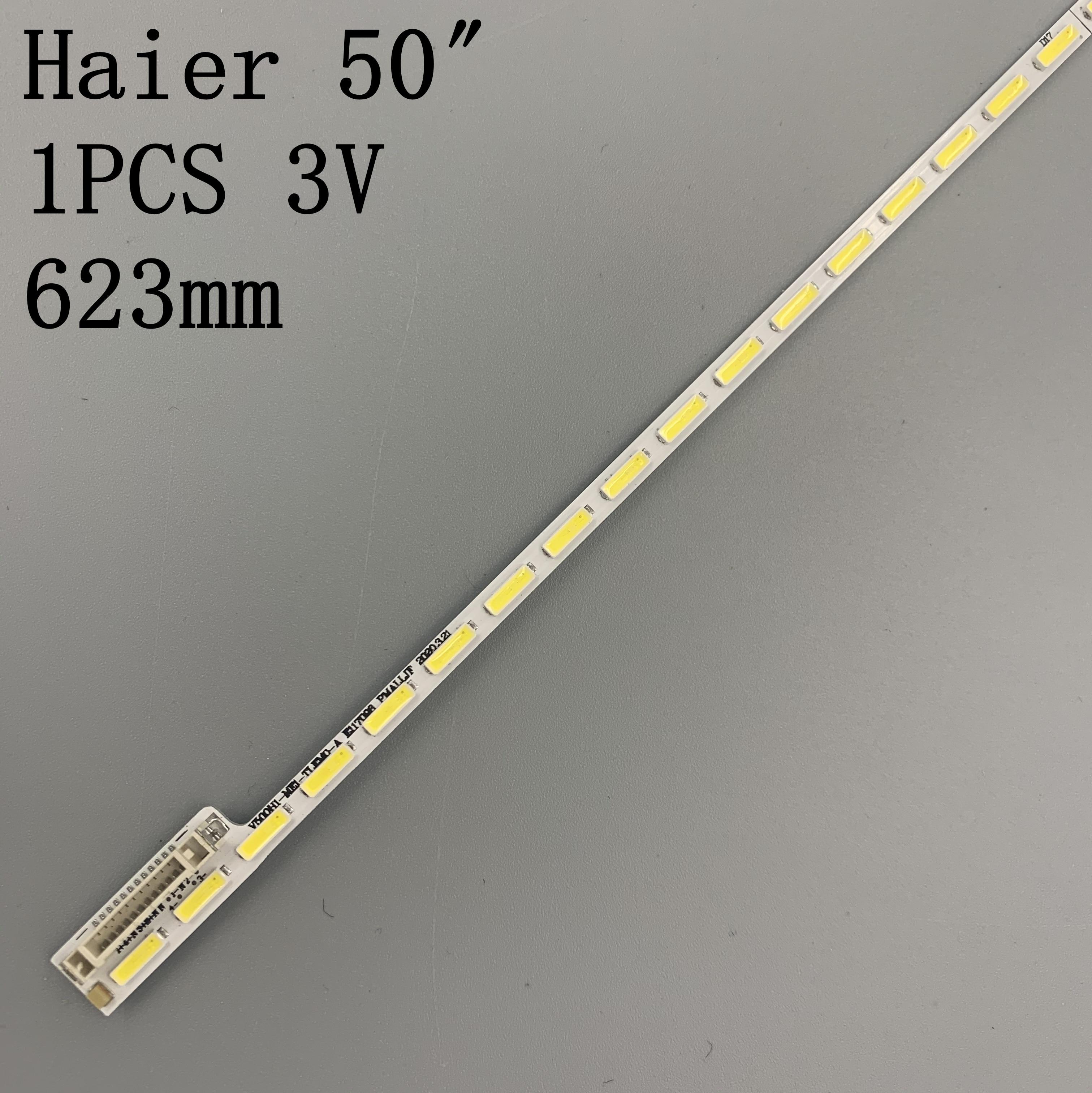 Полоски для лампы Haier LE50A5000 50DU6000, 50 дюймов, полоски для лампы с экраном, 1 шт. = 68LED, 623 мм, для LE50A5000 50DU6000, 1 шт. = 68LED, мм