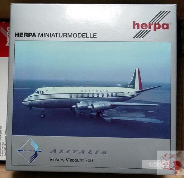Herpa Wings 1:200 Vickers Viscount 700 BOAC 570817