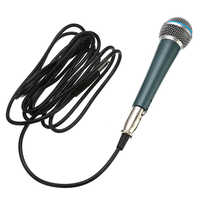 Hot Classic SM-58A Microphone Traditional Wired Handheld Vocal Karaoke Singing Dynamic Microphone Universal Black Green