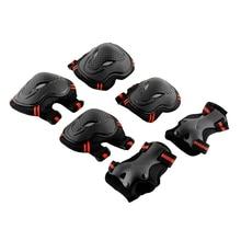 Защита скейтборда синий/красный защитный налокотник для запястья 6x6 pcs gear