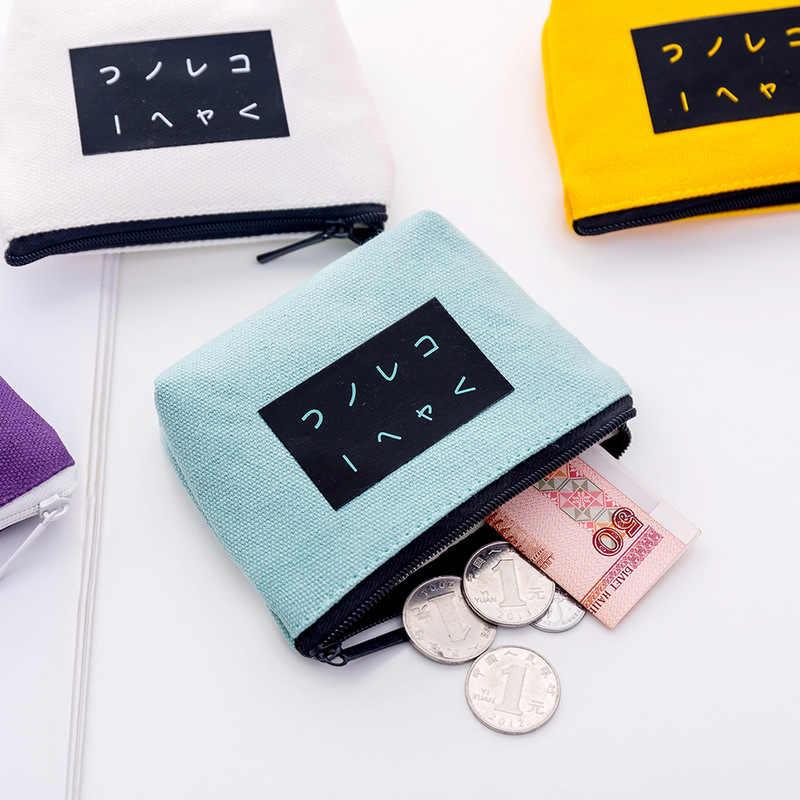 Bolsas de moedas de moda feminina carteira pequena bonito titular do cartão de crédito sacos de dinheiro chave para senhoras bolsa crianças zíper