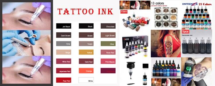 tatuagem da composição permanente do suporte do