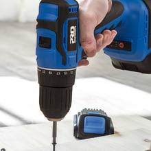 Screwdriver Drill Battery Electric-Power Mini Brushless PROSTORMER 21V 2000mah 40NM 5pcs-Bit