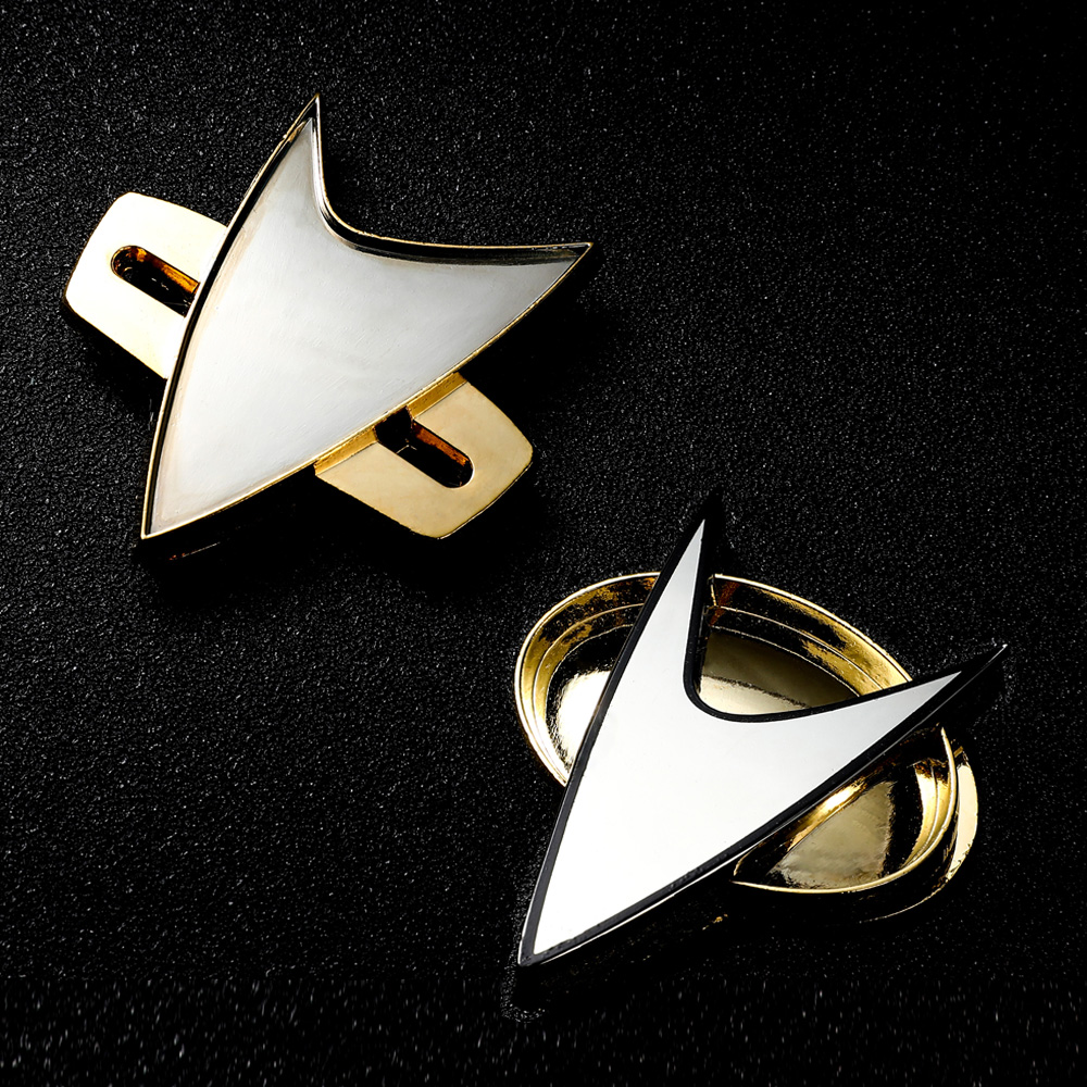 Star Cosplay Trek Badge TNG Starfleet Enterprise Badges Pin Command Recovery Vision Division EnterpriseMagnetic Brooch