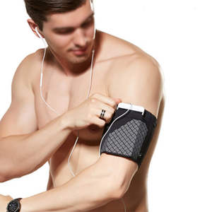 Fitness-Holder Gym Armband Workout-Phone-Pouch Exercise Running Sports Side-Pocket Stretch