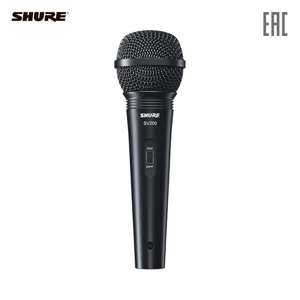 цена на SHURE Microphones SV200-A Consumer Electronics Portable Audio microphone karaoke studio for pc vocal