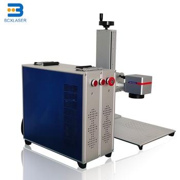 China fiber marker 50W Max /Raycus/ IPG fiber laser marking machine for metal