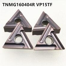 10pcs TNMG160404R VP15TF High Quality Carbide Inserts External Turning Tools TNMG160404 R Metal Machine Parts Lathe Tool