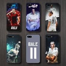 Gareth bale futebol futebol telefone caso capa casco para huawei honor 8 8c 8a 8x9 9a 9x v10 companheiro 10 20 i lite pro coque preto