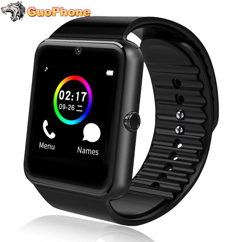 Фото. GT08 часы телефон сенсорный экран камера Bluetooth сим-карты дети мультфильм модные спортивные дешев