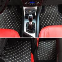 ZRCGL universal Car floor mat for Alfa Romeo Giulia Stelvio 2017 auto styling car accessories