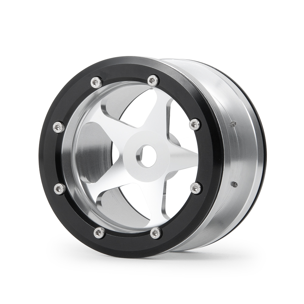4pcs 2.2 inch Aluminium <font><b>Wheel</b></font> Rims <font><b>Set</b></font> for 1/10 <font><b>RC</b></font> Axial Wraith Trx-4 40mm Width #14 image