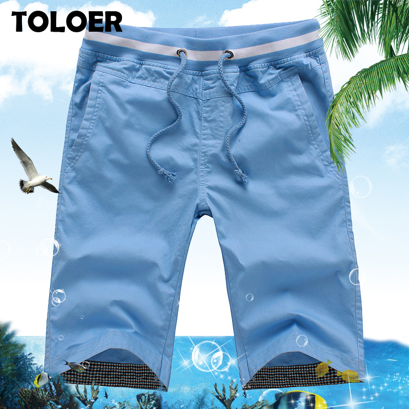 New 2020 Men''s Summer Shorts Men Casual Straight Shorts Male Fashion Cotton Beach Short Pants Candy Colors Shorts Plus Size 5XL