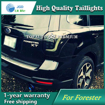 Car Styling Tail Lamp case for Subaru Forester 2014 2015 2016 Tail Lights LED Tail Light Rear Lamp LED taillights tail lights