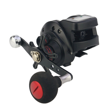Baitcasting Fishing Reel with Line Counter 13+1 Shielded Ball Bearings 6.3:1 Gear Ratio Fishing Reels with Crank Handle  YS-BUY