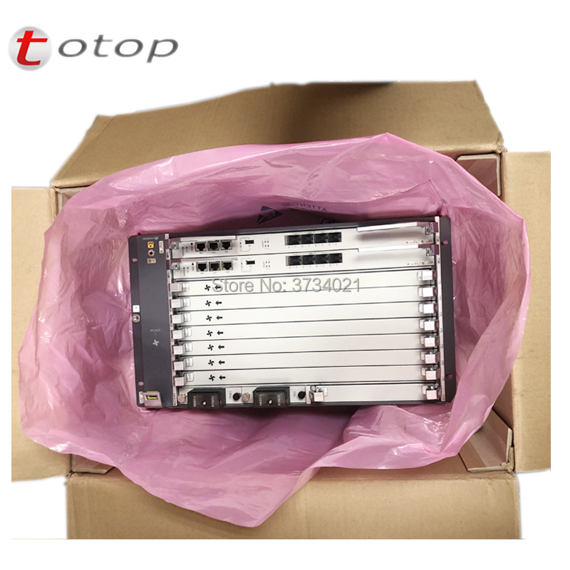 huawei MA5800 X7 GPON OLT with Chassis+2*MPLA+2**PILA+ 1*GPHF C+ and Accessories, 16 SFP Module C+ OLT-in Fiber Optic Equipments from Cellphones & Telecommunications